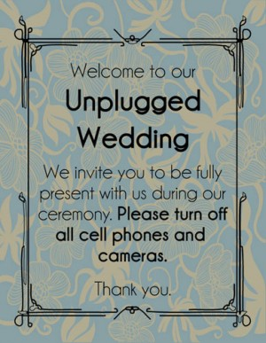 Offbeat bride unplugged wedding tips p i n stopboris Image collections
