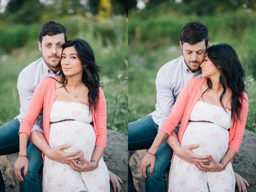 Elk Rock Park maternity session, Portland photographer
